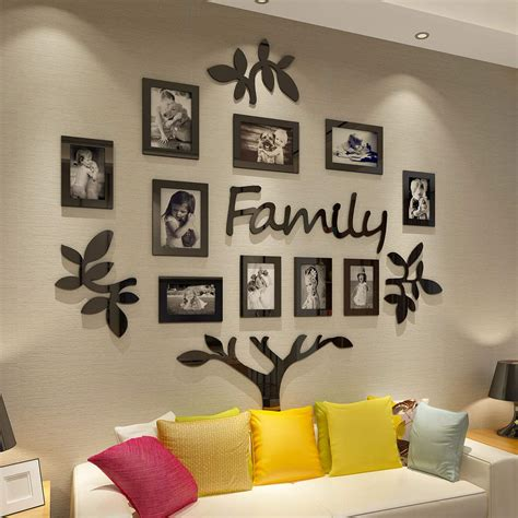 DIY Family Collage Frames