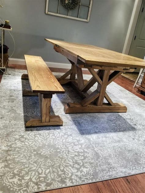 DIY Farm Table With Leaf