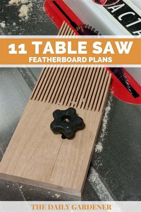 DIY Featherboard For Table Saw