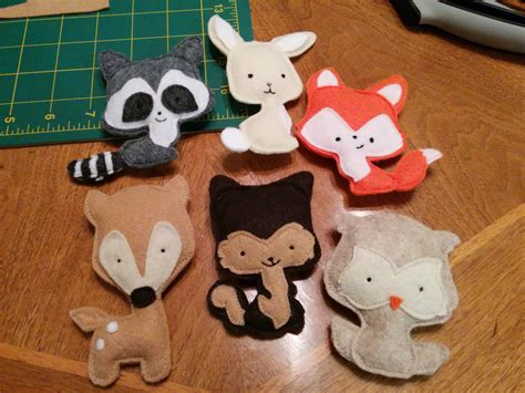 DIY Felt Animal Projects