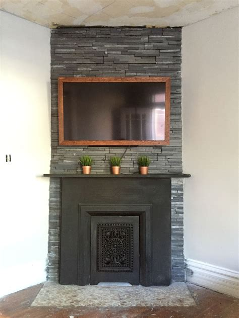 DIY Fireplace Frame