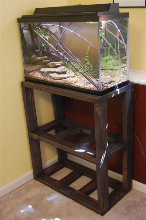 DIY Fish Tank Stand Design