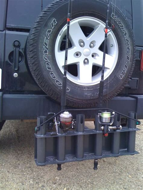 DIY Fishing Rod Holder For Jeep