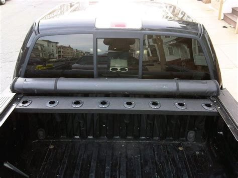 DIY Fishing Rod Truck Rack