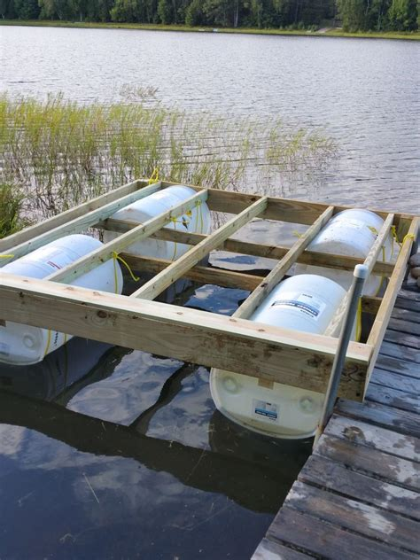 DIY Floating Boat Dock Plans