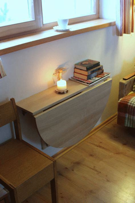 DIY Floating Kitchen Table