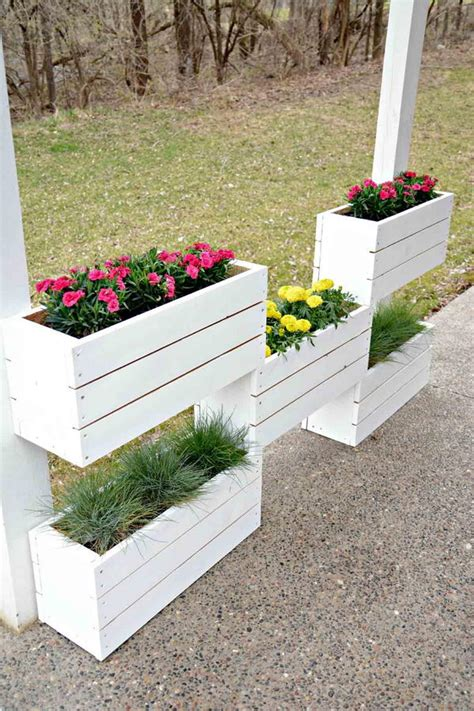 DIY Flower Box Planters