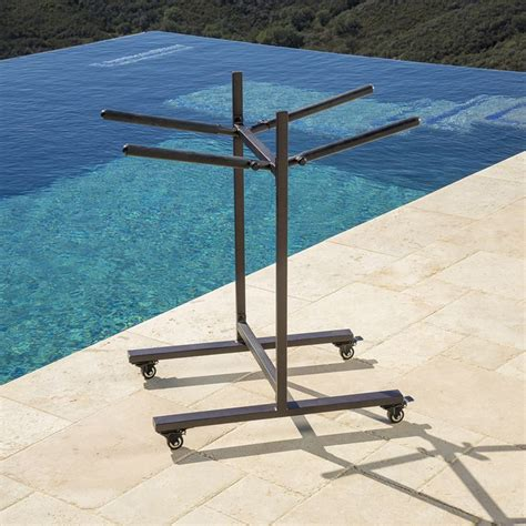 DIY Folding Chair Cart