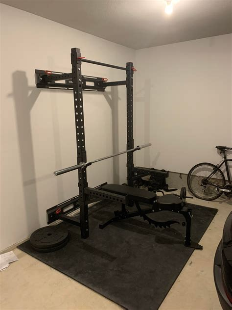 DIY Folding Squat Rack Reddit