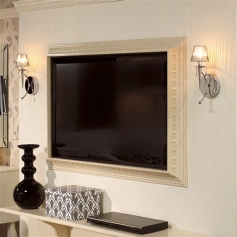 DIY Framing A Flat Screen Tv