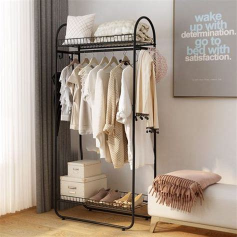 DIY Free Standing Clothing Rack