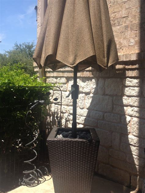 DIY Free Standing Umbrella Base