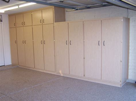 DIY Garage Lockers Plans