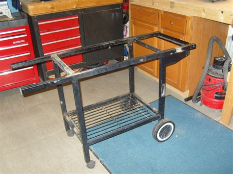 DIY Gas Grill Stand Replacement