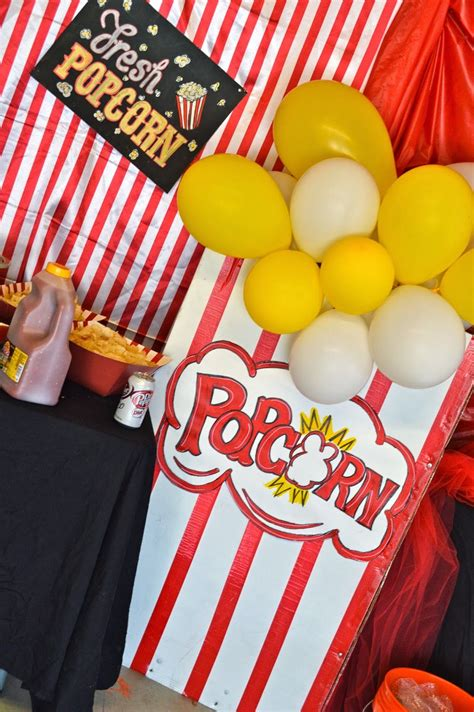DIY Giant Popcorn Box Prop