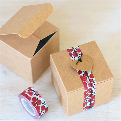 DIY Gift Boxes Small