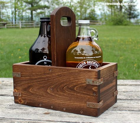 DIY Growler Rack