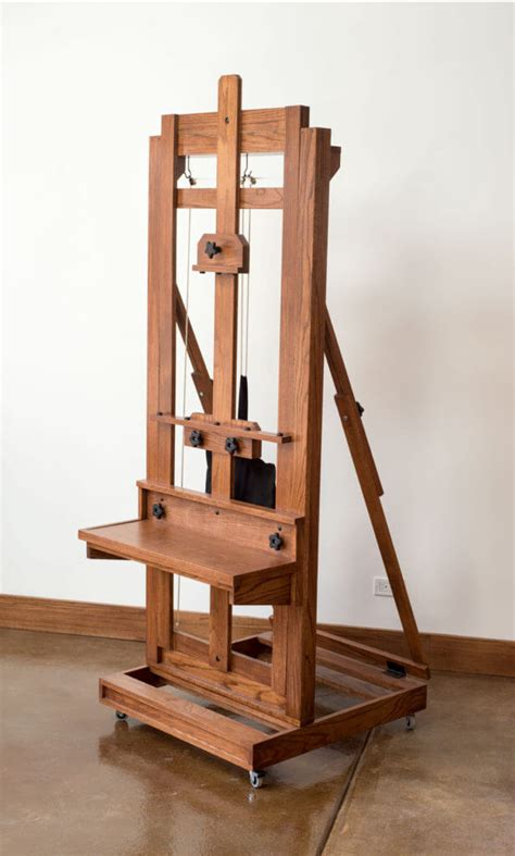 DIY H Frame Easel Plans