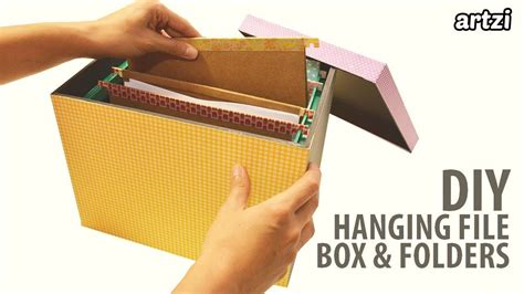 DIY Hanging File Box