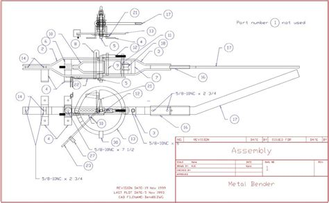 DIY Hossfeld Bender Plans