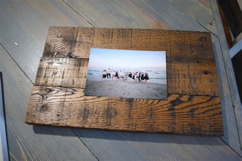 DIY How To Make Rustic Picture Frames