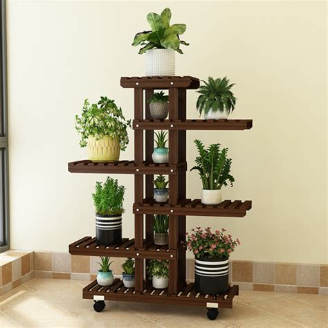DIY Indoor Plant Stand Multiple Plants