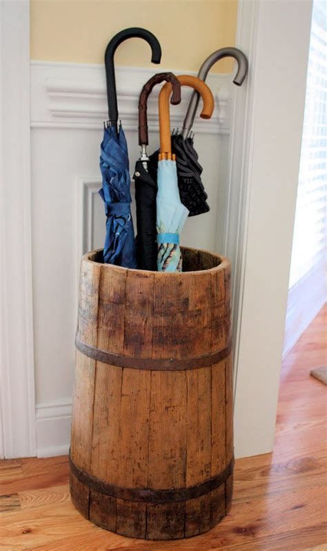 DIY Indoor Umbrella Stand