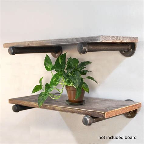 DIY Iron Fittings Shelf