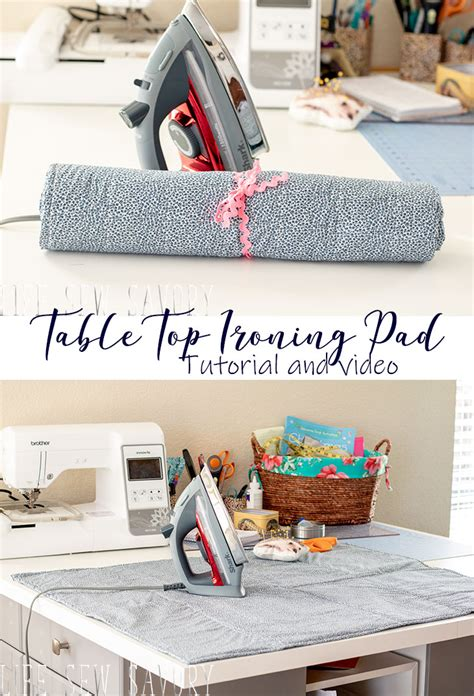 DIY Ironing Pad For Table Top