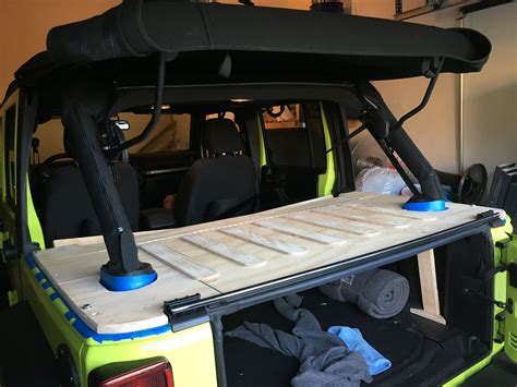 DIY Jeep Cargo Rack