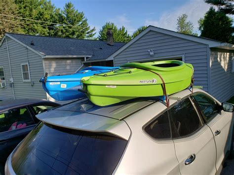 DIY Kayak Car Rack