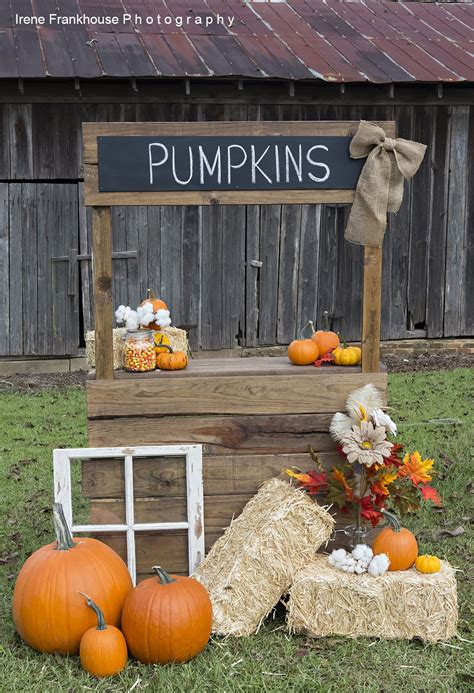DIY Kids Pumpkin Stand