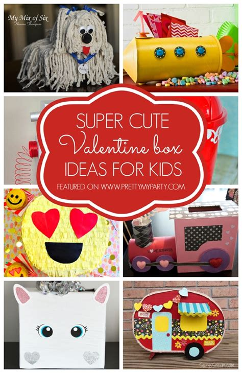 DIY Kids Valentines Box
