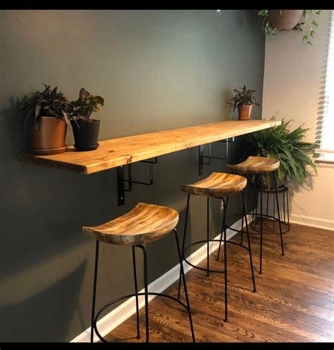 DIY Kitchen Wall Table
