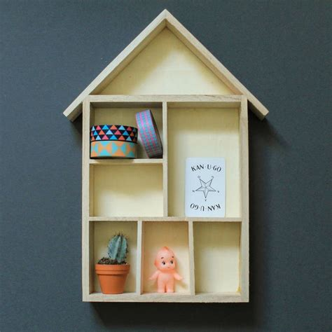 DIY Knick Knack Shelf Shelves Shelving