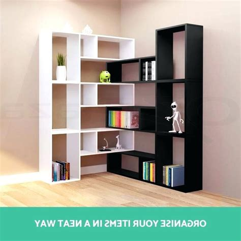 DIY L Shaped Bookcase Plans