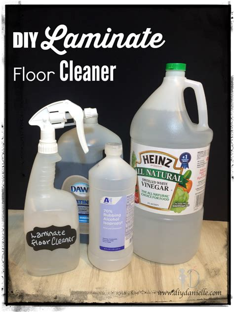 DIY Laminate Wood Cleaner