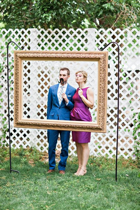DIY Large Photo Booth Frame
