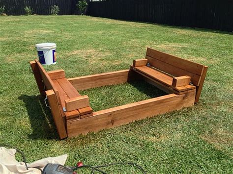 DIY Large Sandbox Plans With Budget