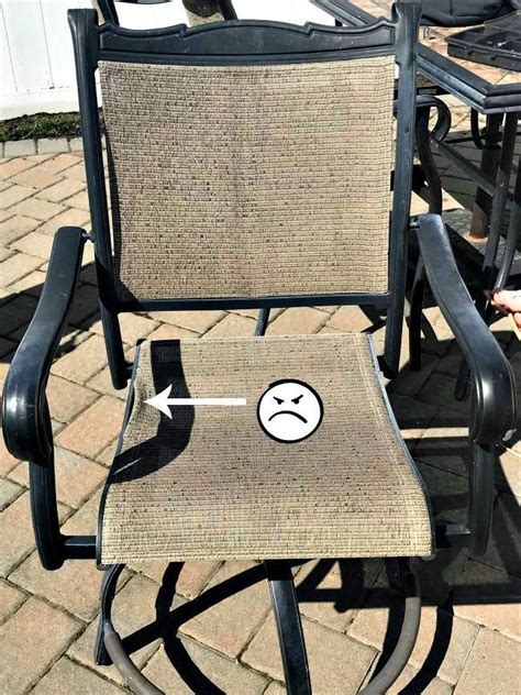DIY Lawn Chair Repair