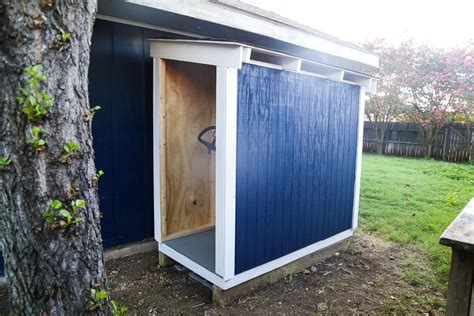 DIY Lawn Mower Shed Plans