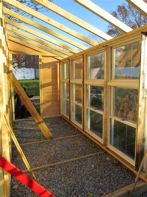 DIY Lean To Greenhouse With Used Windows 10