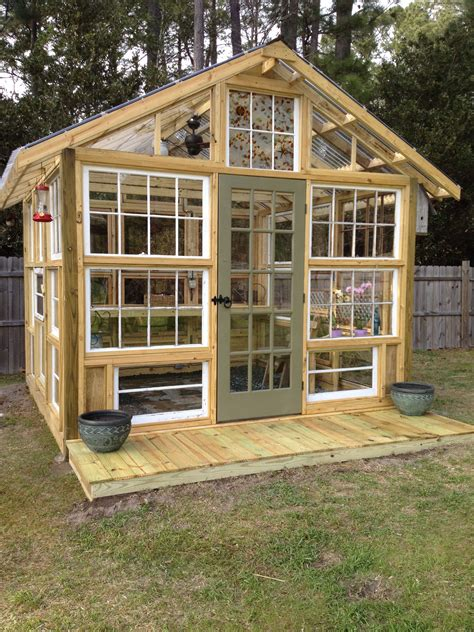 DIY Lean To Greenhouse With Used Windows For Salehome