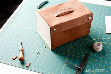 DIY Leather Lunch Box