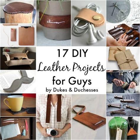 DIY Leather Projects Men