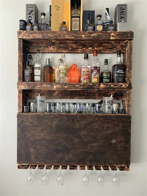 DIY Liquor Cabinet Images With Hardware