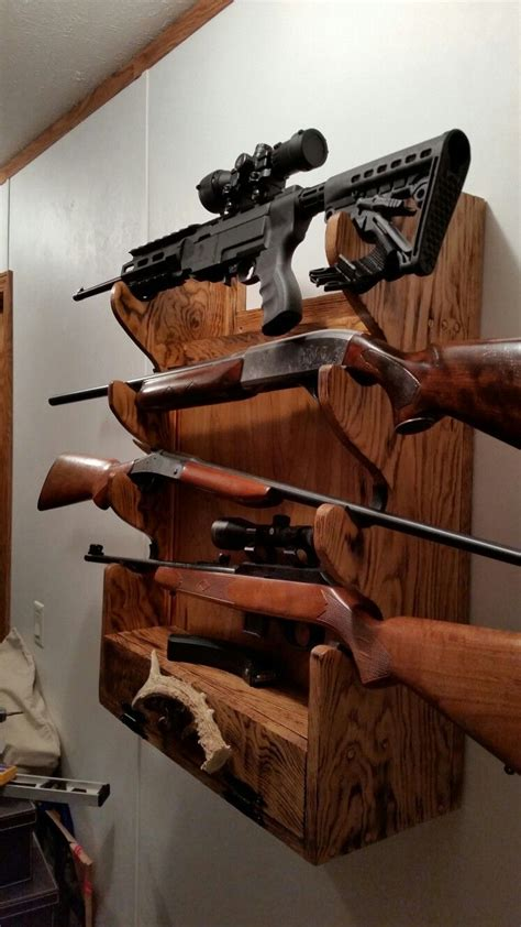 DIY Locking Gun Rack