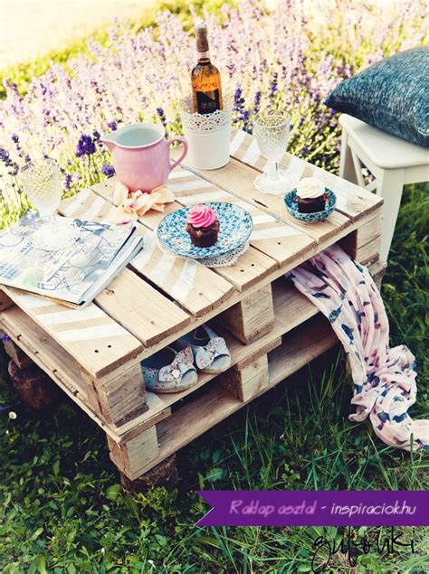 DIY Low Table For Picnic