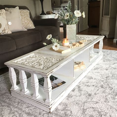DIY Makeover Plain Coffee Table