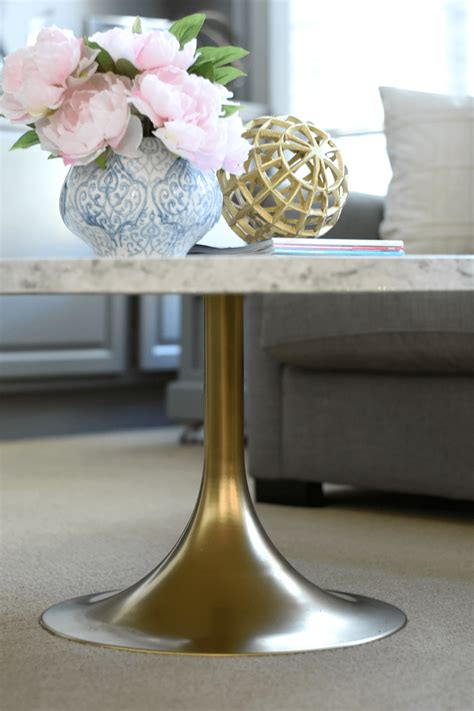 DIY Marble Table Paint